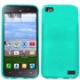 Estuche Durable Cool Azul Claro Para Huawei Raven H892l Lte