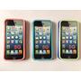 Forros Fluorecentes Iphone 5 Doble Capa (acrilico Y Goma)