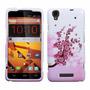 Estuche Pink Spring Flowers And Love Hard Par Zte Max N9520