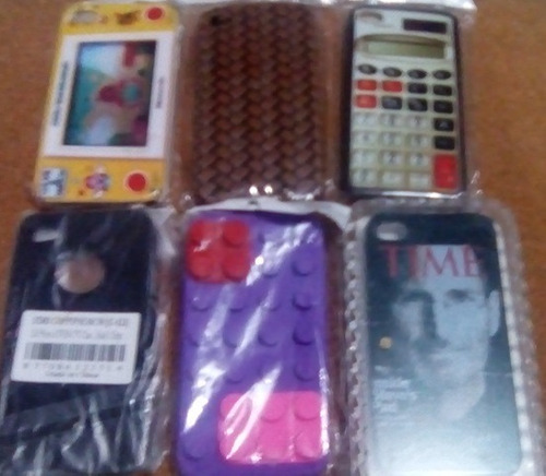 estuches iphone 4s todo el lote