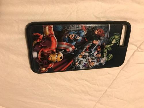 estuches marvel para iphone 7 plus como nuevos