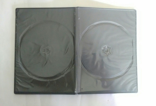 estuches ó cajas de dvd slim 0.5mm. para 2 discos