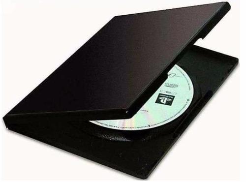 estuches para cds dvds plastico variados (21 unidades)