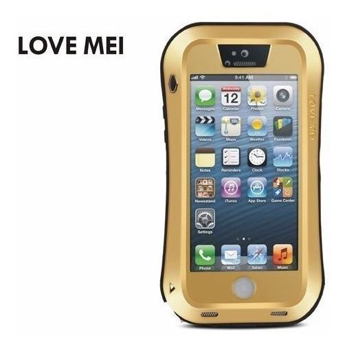 72e946fc8e9 Estuches Protectores Love Mei, iPhone 5, 5s, 5c, Genuinos. - $ 29.000 en  Mercado Libre