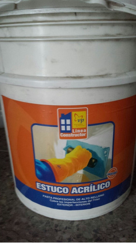 estuco acrilico vp cuñete (5 galones)