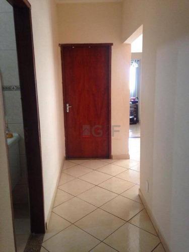 estuda permuta por apt menor valor - casa com 2 dormitórios à venda, 118 m² por r$ 395.000 - jardim morumbi - campinas/sp - ca5941