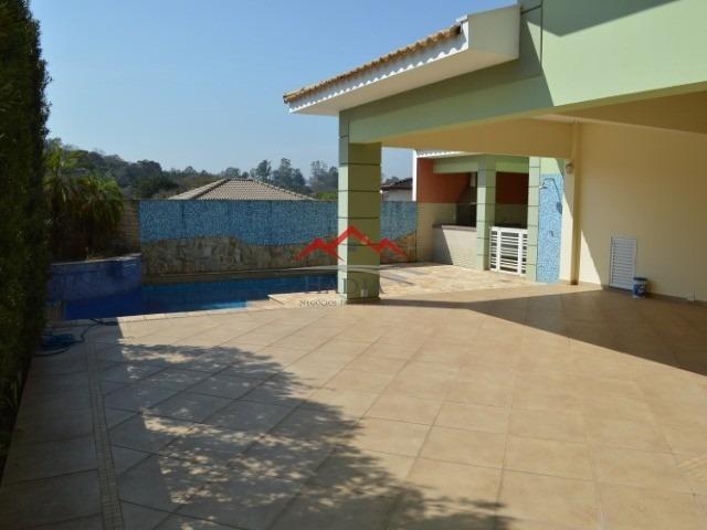 estuda permuta|casa de alto padrão no condomínio fechado portal do paraiso ii em jundiaí - ca00005 - 3457259