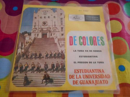 estudiantina de guanajuato lp 45rpm de colores