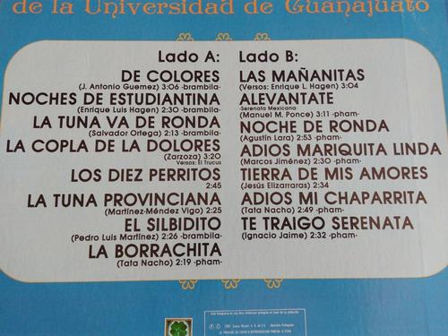 estudiantina de la universidad de guanajuato lp 15 exitos 83