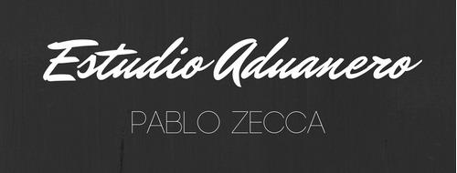 estudio aduanero pablo zecca