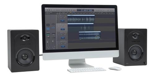 estudio audio monitores