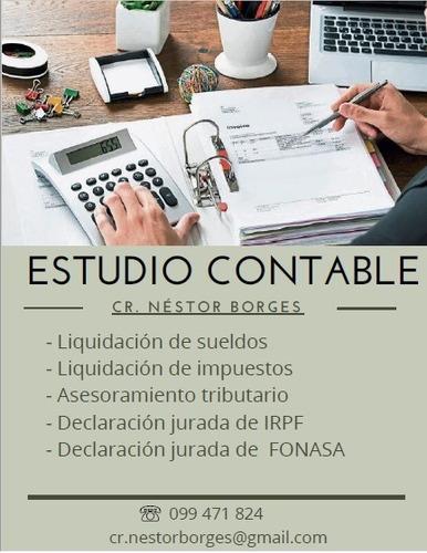 estudio contable, asesoria en impuestos gratuita.