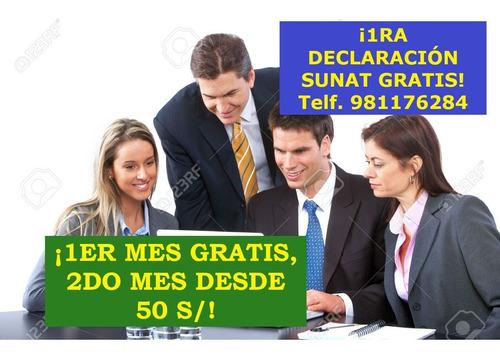 estudio contable contador contabilidad