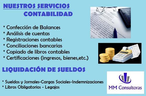 estudio contable - contadora- monotributo - impuestos