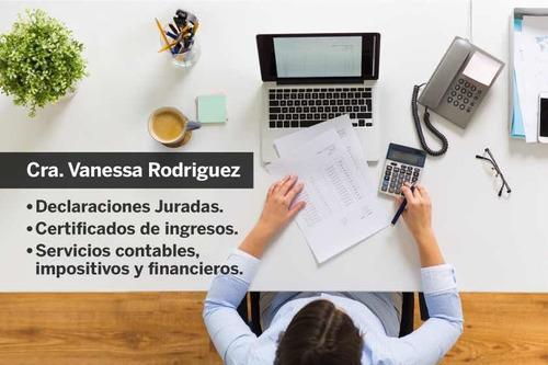 estudio contable,contador,certificados ingreso,declaracion