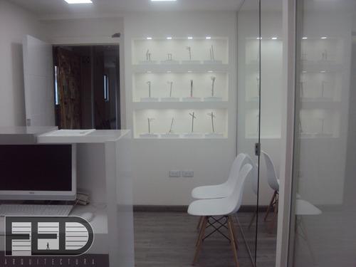 estudio de arquitectura proyectos oficina vivienda render
