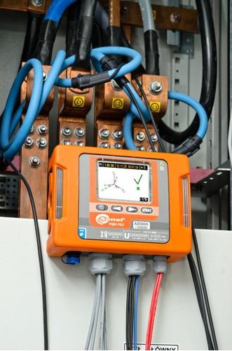 estudio de calidad de energia. medicion de carga