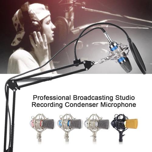 estudio de difusión profesional condensador grabación