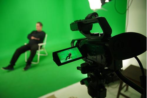 estudio de filmación, chroma key, fotografía, vídeo, sin fin