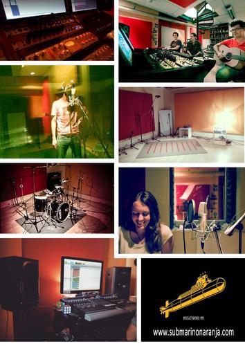 estudio de grabación, mezcla y mastering - desde 2001