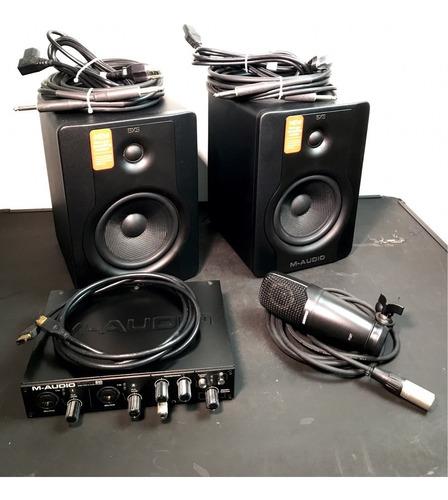 estudio de grabación música, cine acepto cambios negociable