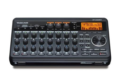 estudio de grabación portátil tascam dp-008ex 8-track