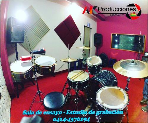 estudio de grabación - sala de ensayo