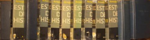estudio de la historia, de arnold toynbee (12 tomos)