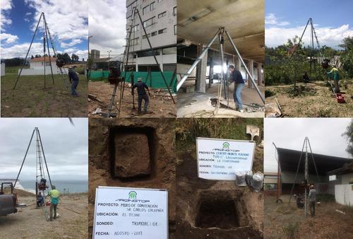 estudio de suelo - levantamiento topográfico georeferenciado