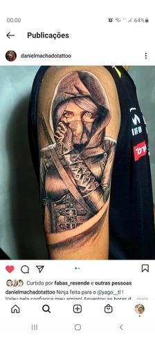 estudio de tatuagem realismo
