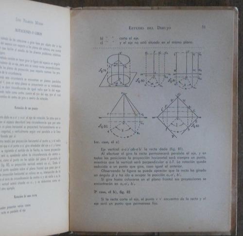 estudio del dibujo - proyecciones, claroscuro, perspectiva