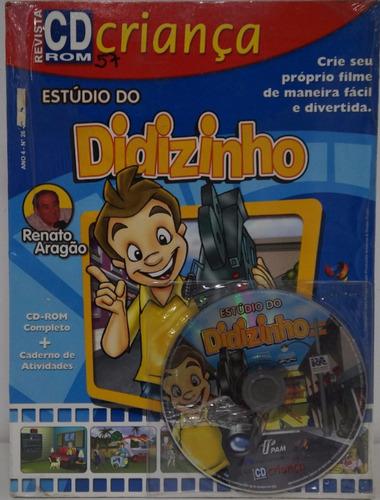 estudio do didizinho jogo pc infantil revista cd criança
