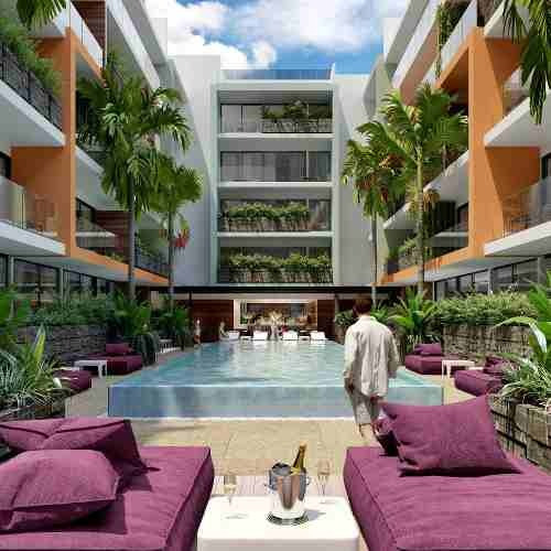 estudio en ¨the city¨ playa del carmen excelente inversión