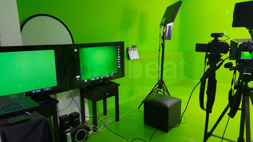 estudio filmacion croma verde chroma key tv video belgrano
