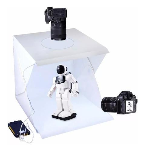 estudio fotografia ecommerce duplo led fotos produtos caixa