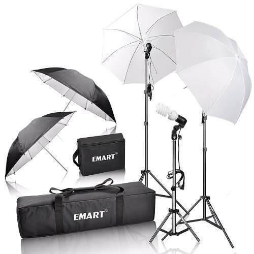 estudio fotografia  portatil emart 600w photography photo