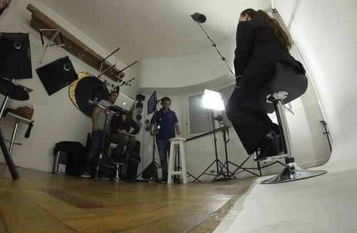 estudio fotografico alquiler 2 hs $ 650. con equipos