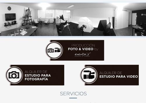 estudio fotográfico alquiler books publicidad audiovisual