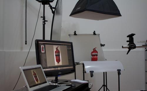 estudio fotográfico alquiler las 2 hs $ 650.- equipos inc.