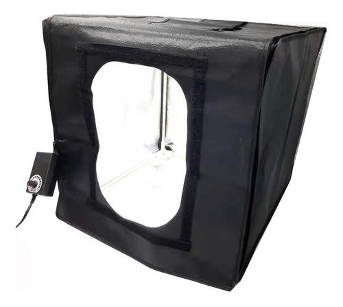 estudio fotográfico caja luz softbox portátil 60cm x 60cm