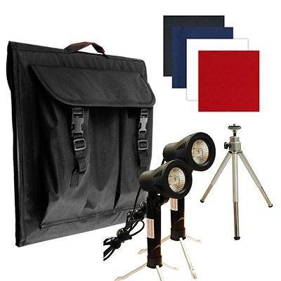 estudio fotográfico portatil 40cm x 40cm x 40cm