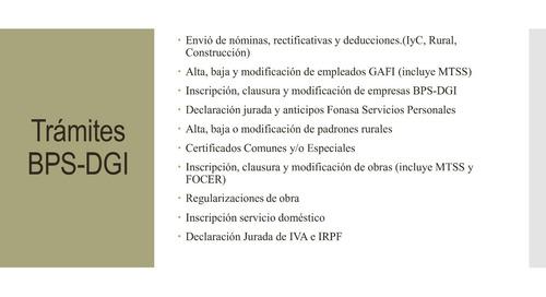 estudio gestoría-tramites bps-dgi.