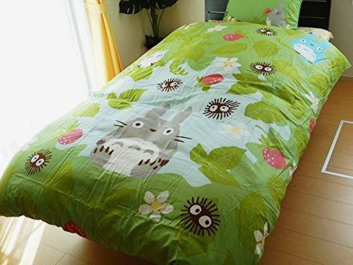 Estudio Ghibli Vecino Totoro Individual Largo Edredón Del