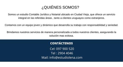 estudio jurídico, contable y notarial