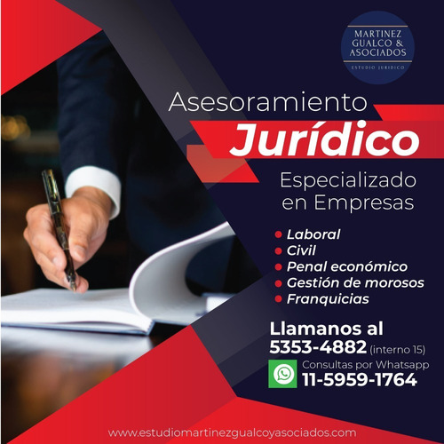 estudio jurídico para empresas y pymes