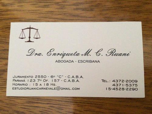 estudio juridico,civil,laboral y comercial.sucesiones