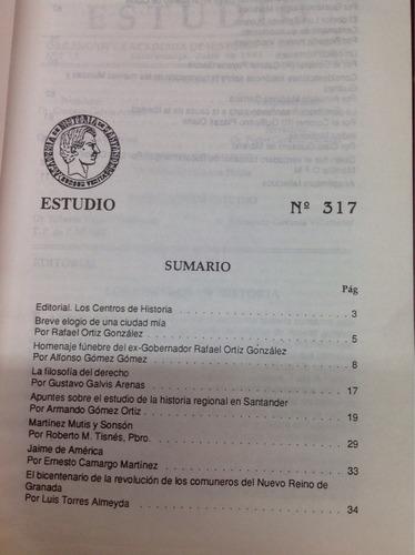 estudio órgano de la academia de historia de santander