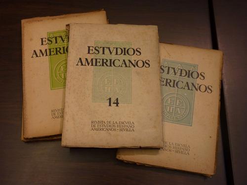 estudios americanos