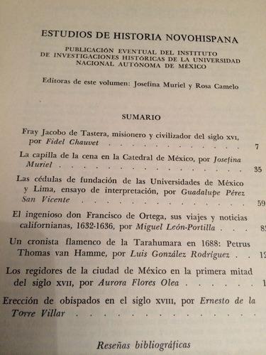 estudios de historia novohispana volumen tres unam