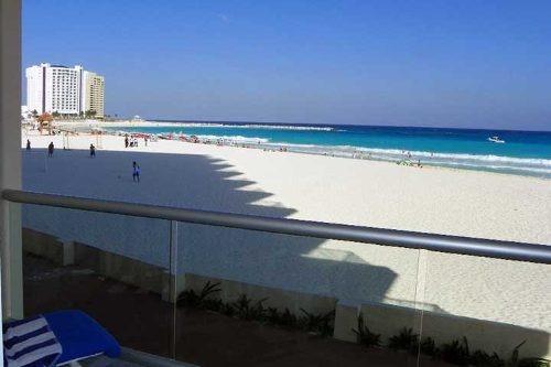 estudios en la mejor zona de cancun con playa y alberca